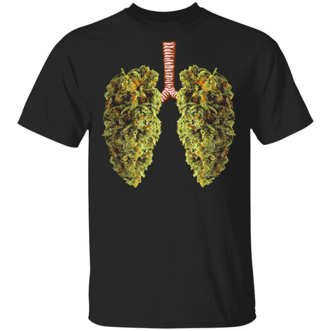 Funny Weed Lung Marijuana Bud Shirts THC Lung