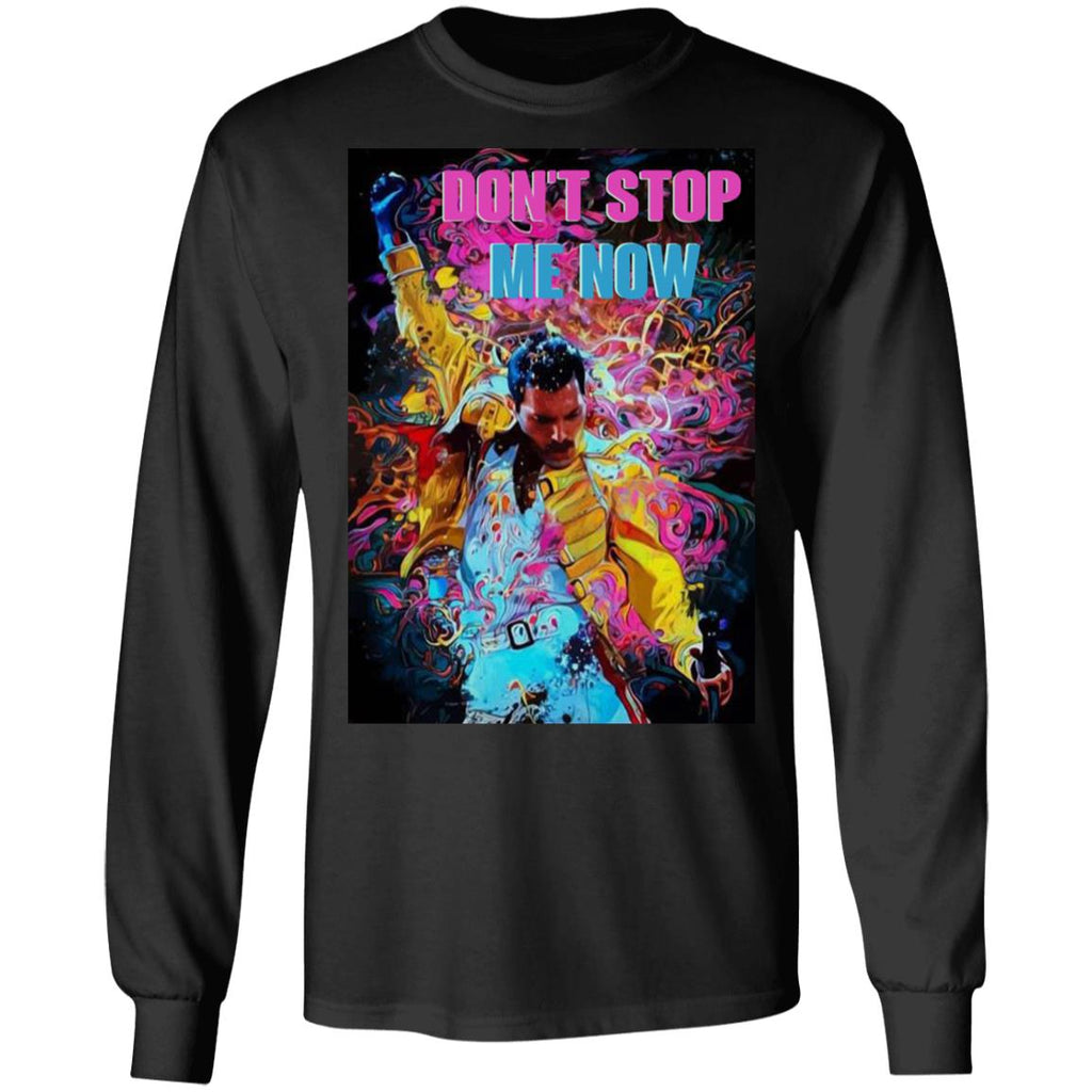 Retro Freddie Mercury Don't Stop Me Now shirts