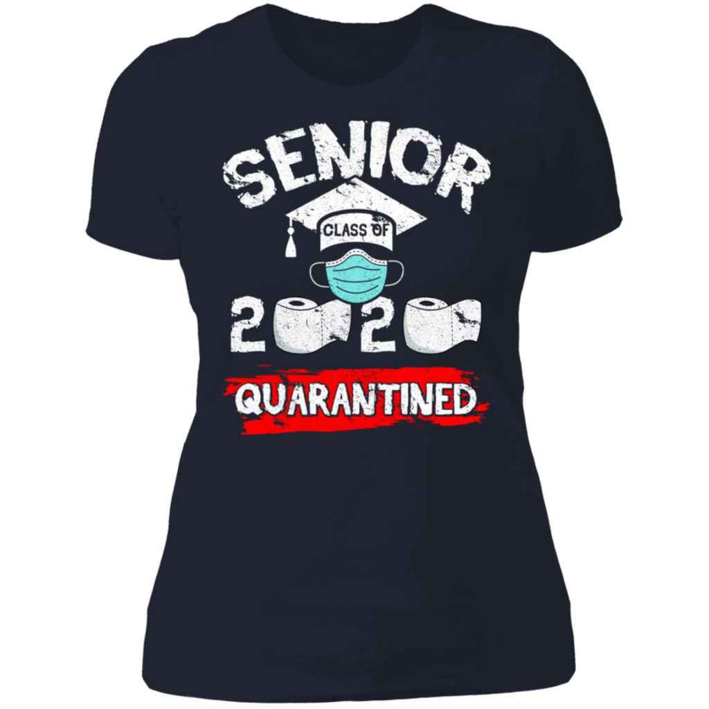 Senior Class Of 2020 Quarantine Toilet Paper Vintage Funny shirts