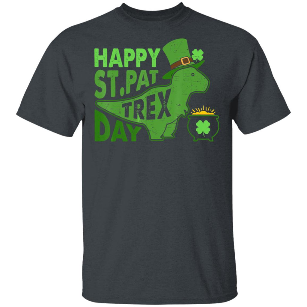 Happy St Pat T Rex Day Shirts Dinosaur St Patrick's Day shirts