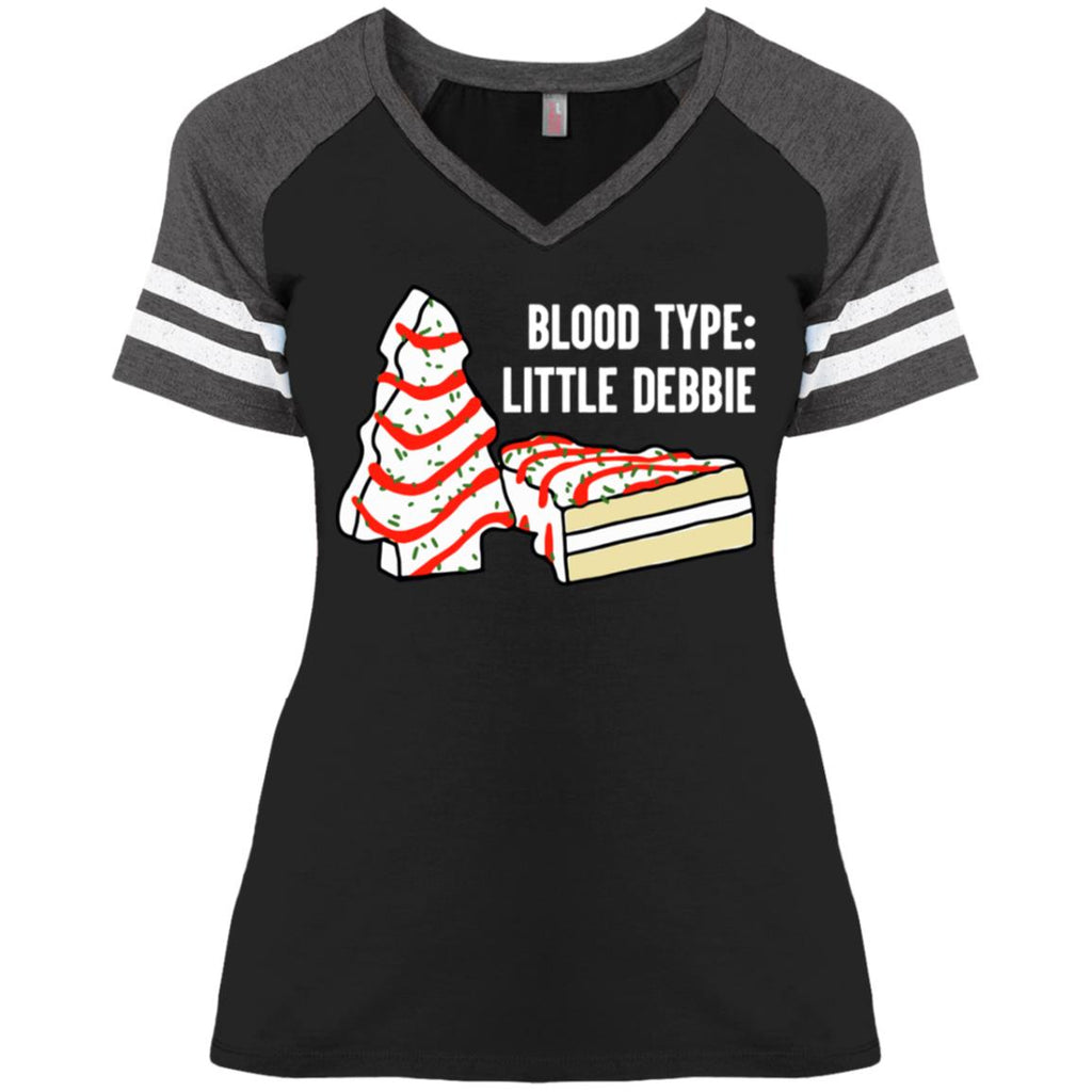 Blood Type Little Debbie Christmas Tree Snack Cake shirts
