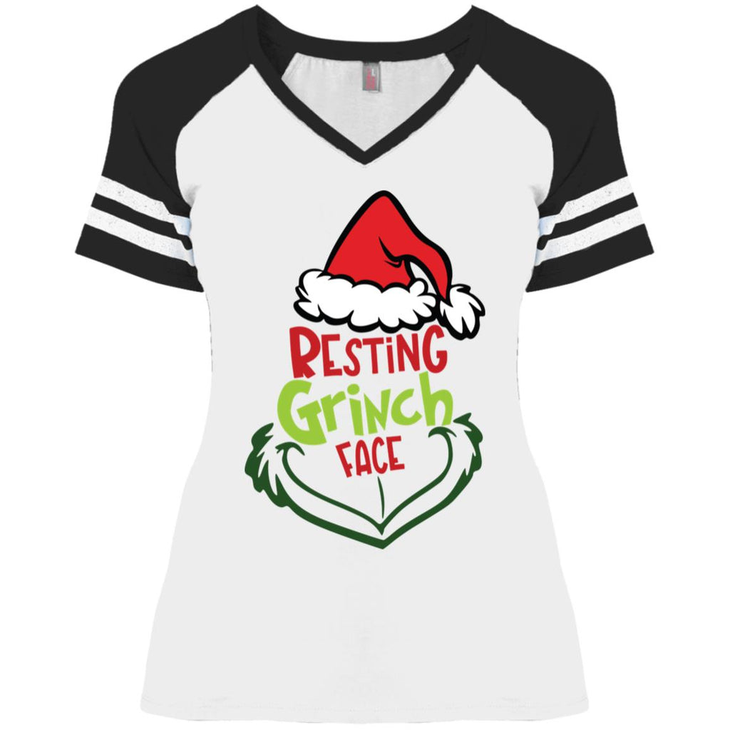 Resting grinch face christmas shirts