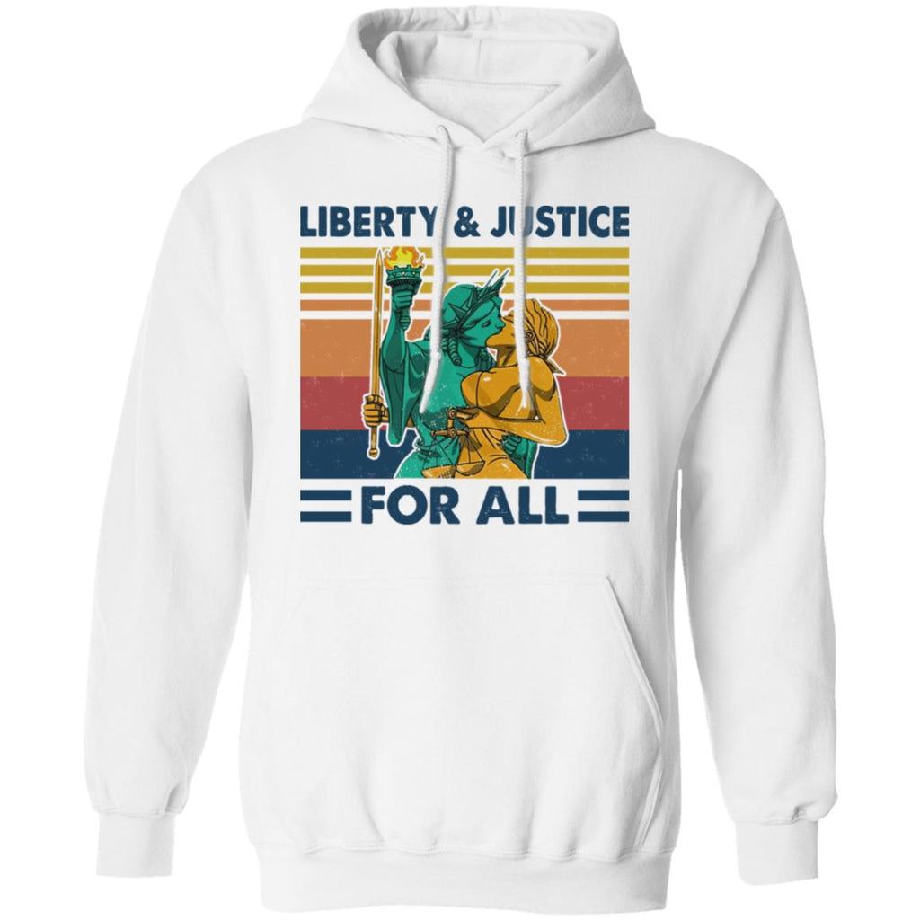 Liberty and Justice For All shirts