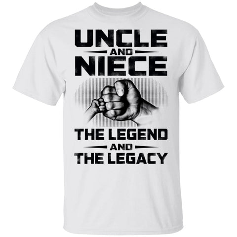 Uncle And Niece The Legend And The Legacy shirts