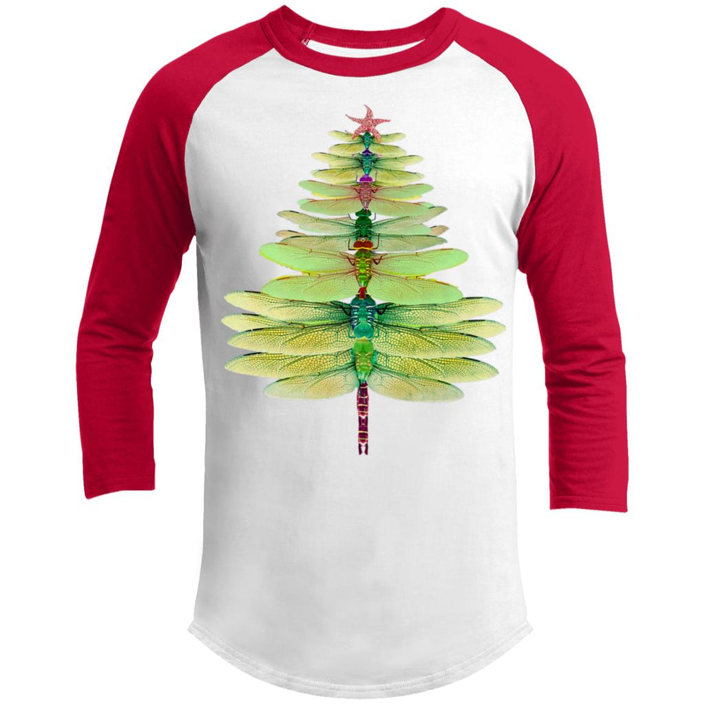 Dragonfly Christmas Tree Funny Dragonfly shirts