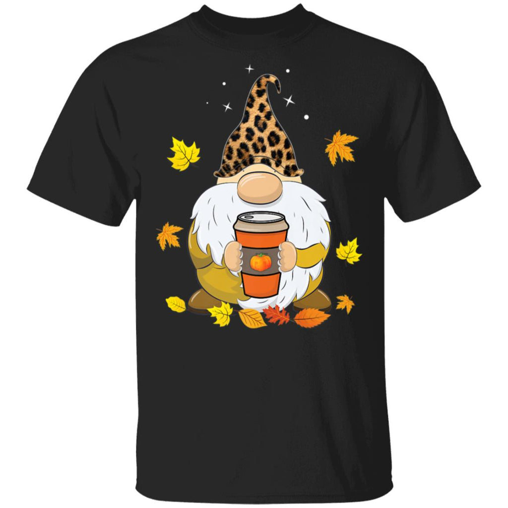 Fall Gnome with Pumpkin Spice Halloween Thanksgiving shirt
