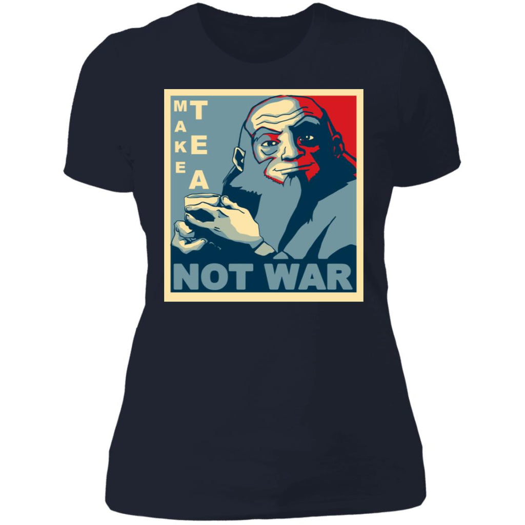 Make Tea Not War Uncle Iroh Funny shirts