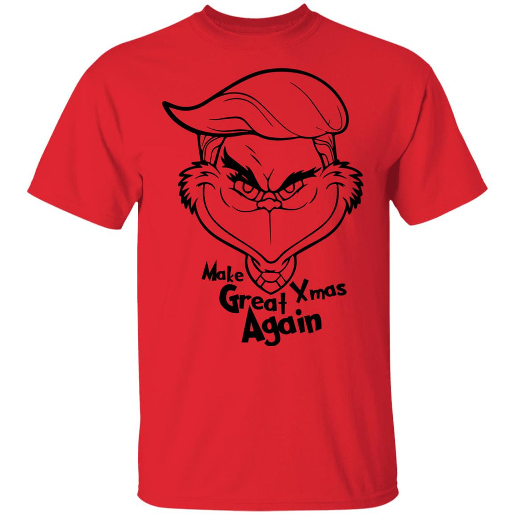 Funny Classic Grinch Trump Make Great Xmas Again shirts