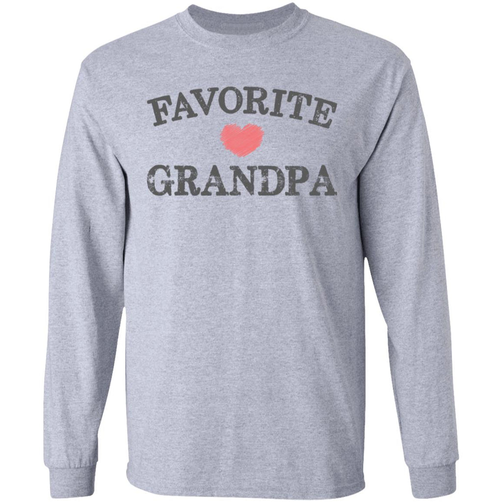 Favorite Grandpa Heart Distressed Vintage shirt funny