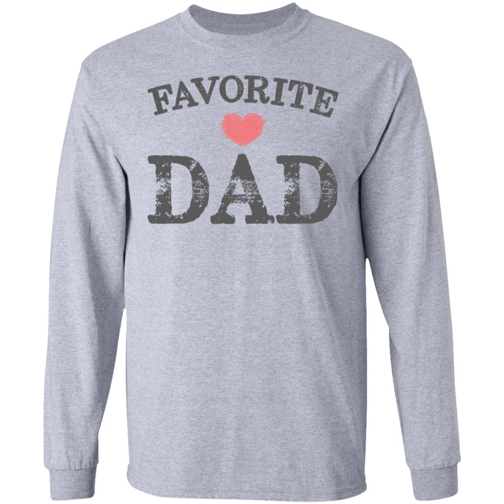 Favorite Dad Heart Distressed Vintage shirt funny