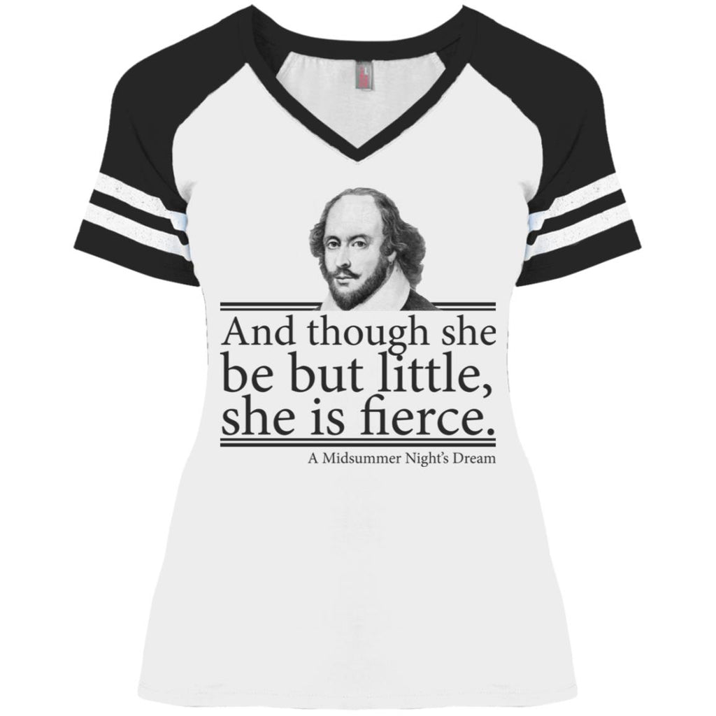 William Shakespeare and Though She Be But Little She Is Fierce shirts