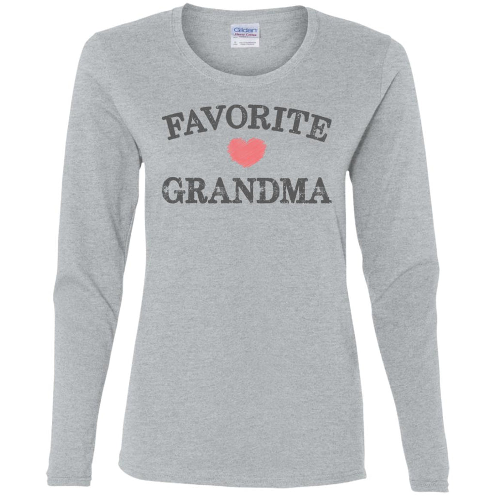 Favorite Grandma Heart Distressed Vintage shirt funny