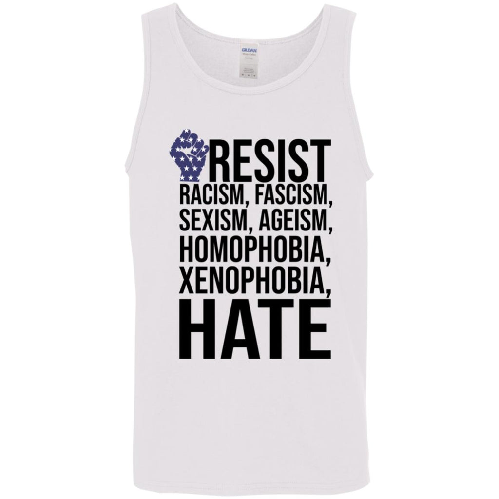 Strong Hand Resist Racism Fascism Sexism Ageism Homophobia Xenophobia Hate shirts