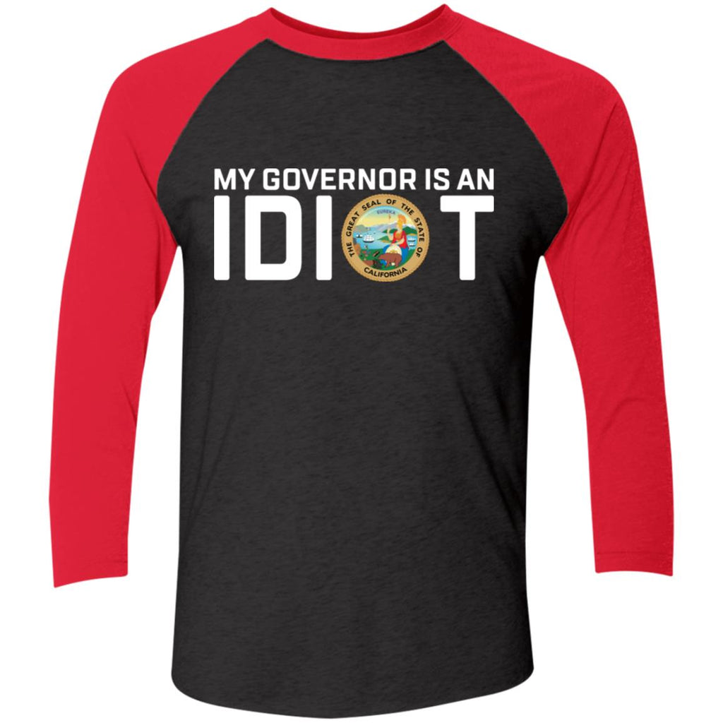 My Governor Is An Idiot California Shirts