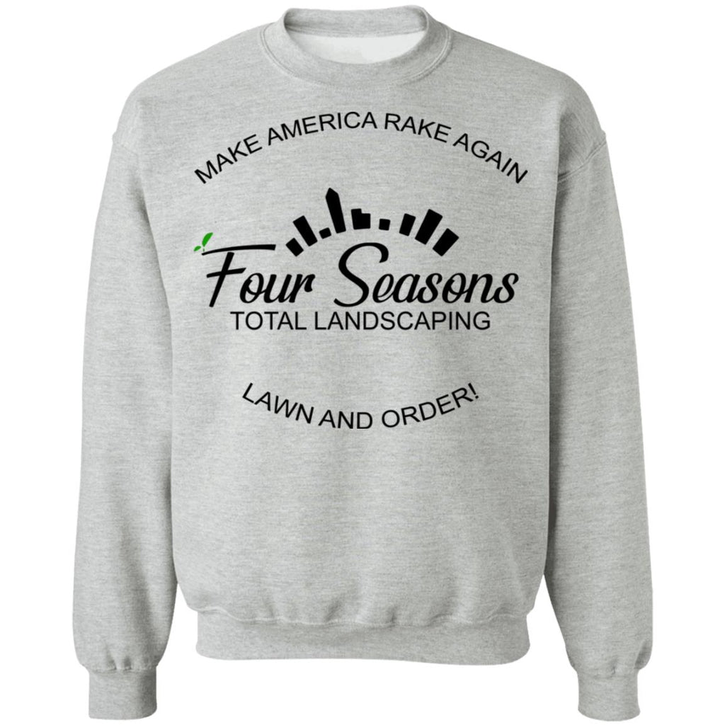 Make America Rake Again Lawn And Order Funny Four Seasons Landscaping shirts