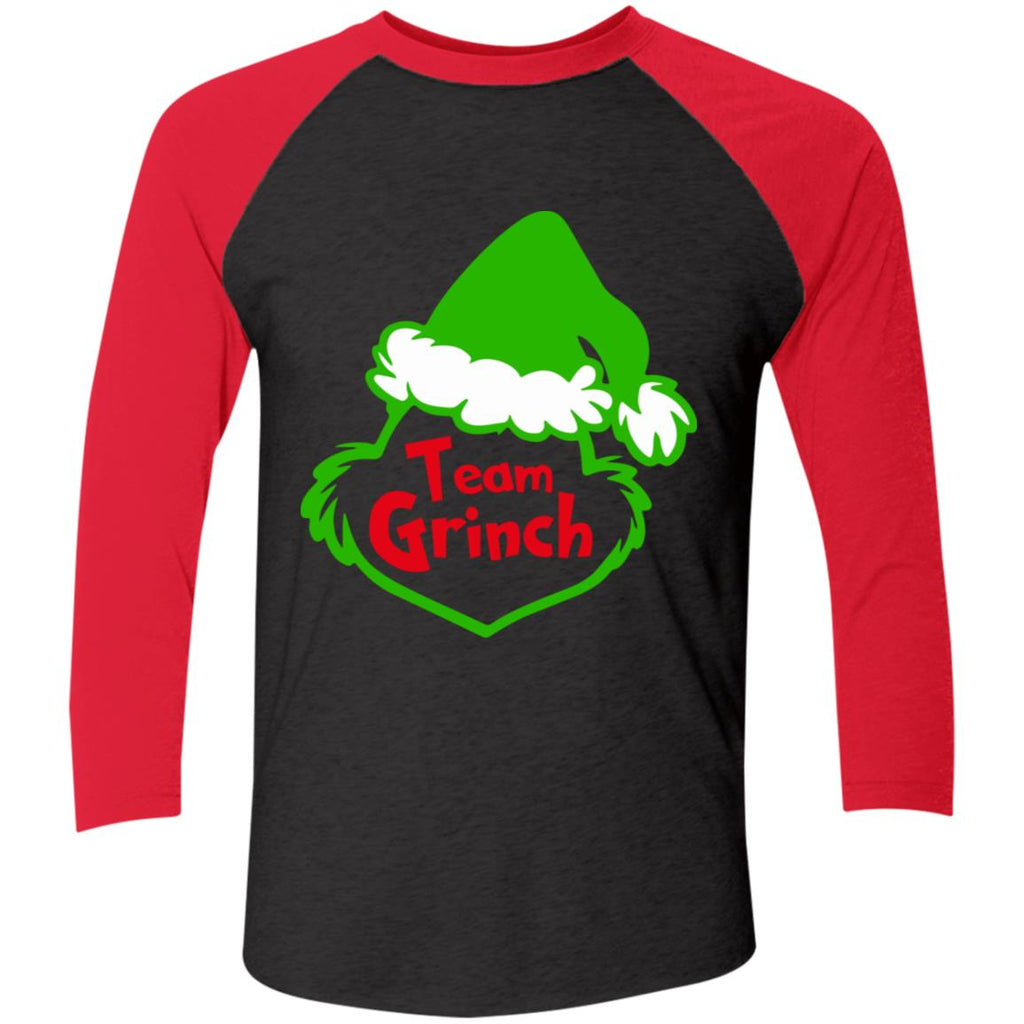 Team Grinch Face Funny Christmas shirts
