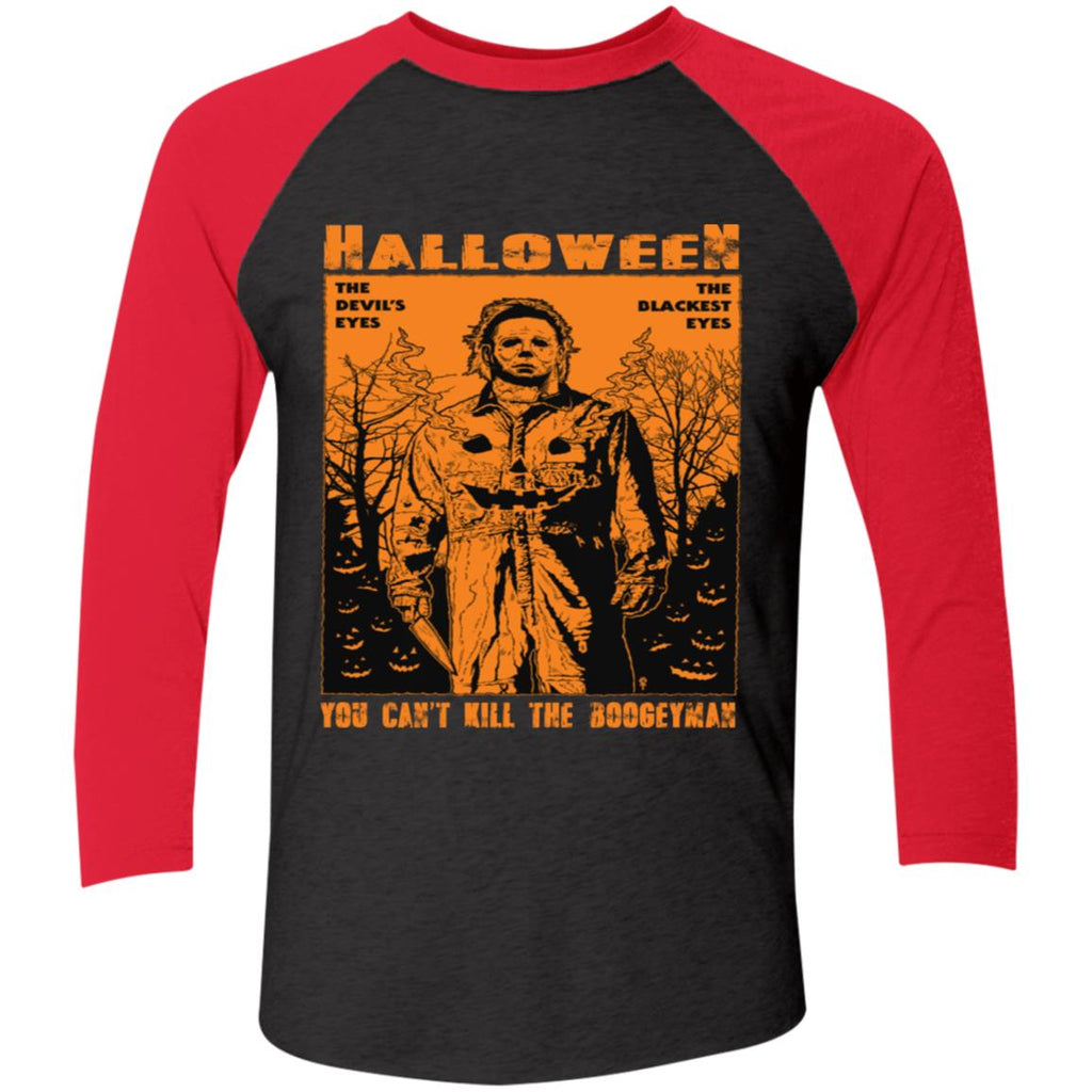 Michael Myers The Devil's Eyes The Blackest Eyes You Can't Kill The Boogeyman shirts
