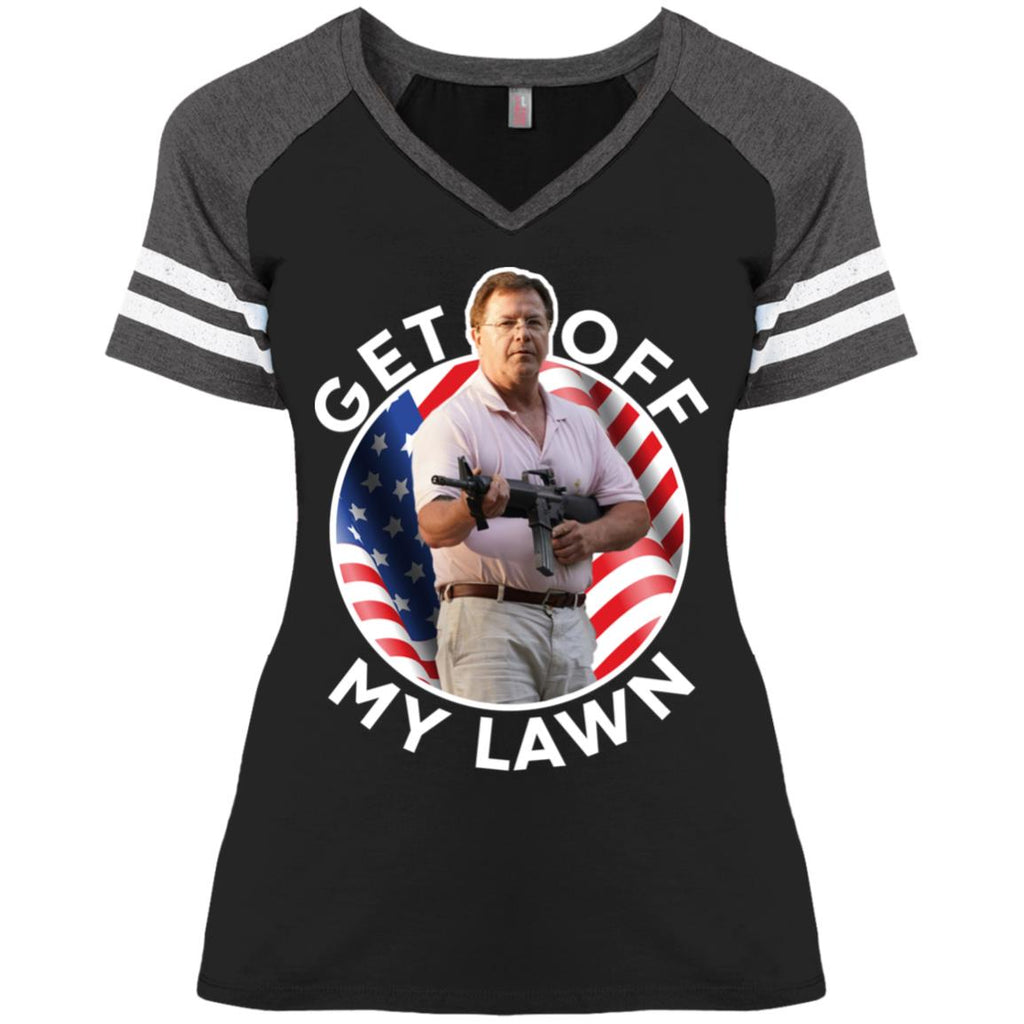 Ken and Karen Get Off My Lawn American shirts