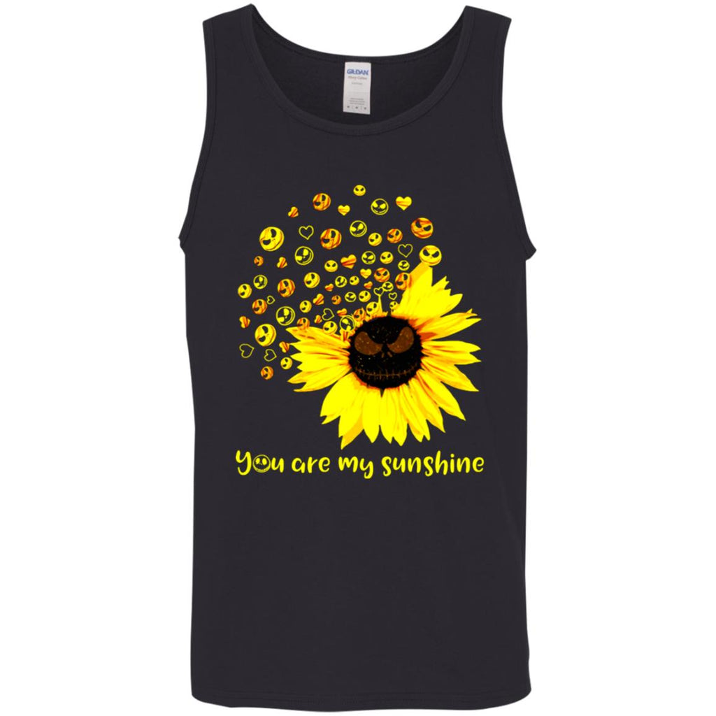 Jack Skellington You Are My Sunshine shirts