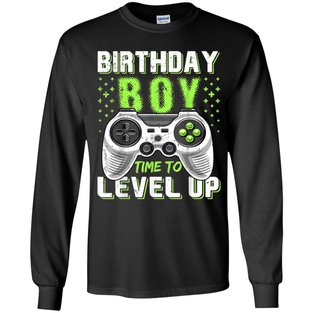 Birthday Boy Time To Level Up Video Game Vintage shirts