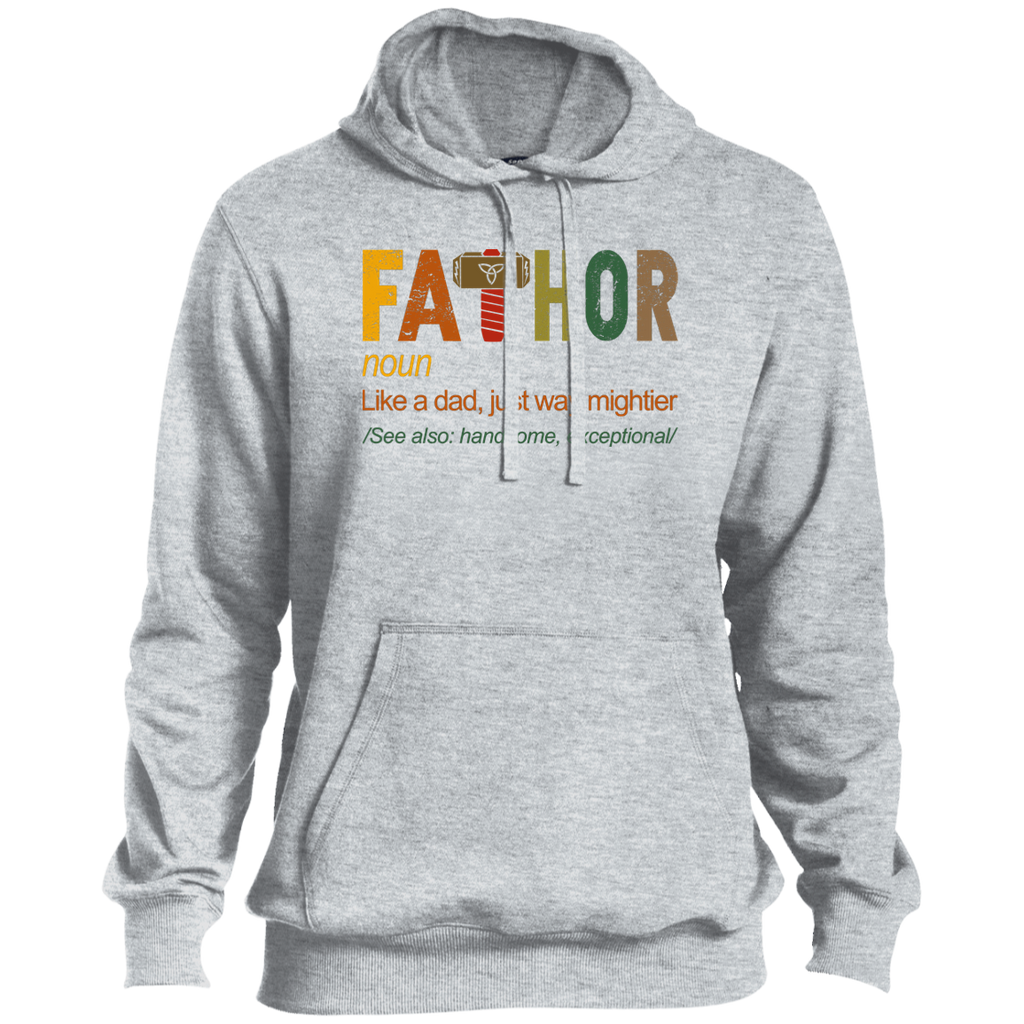 FaThor Like Dad Just Way Mightier Hero Shirt Tall Size
