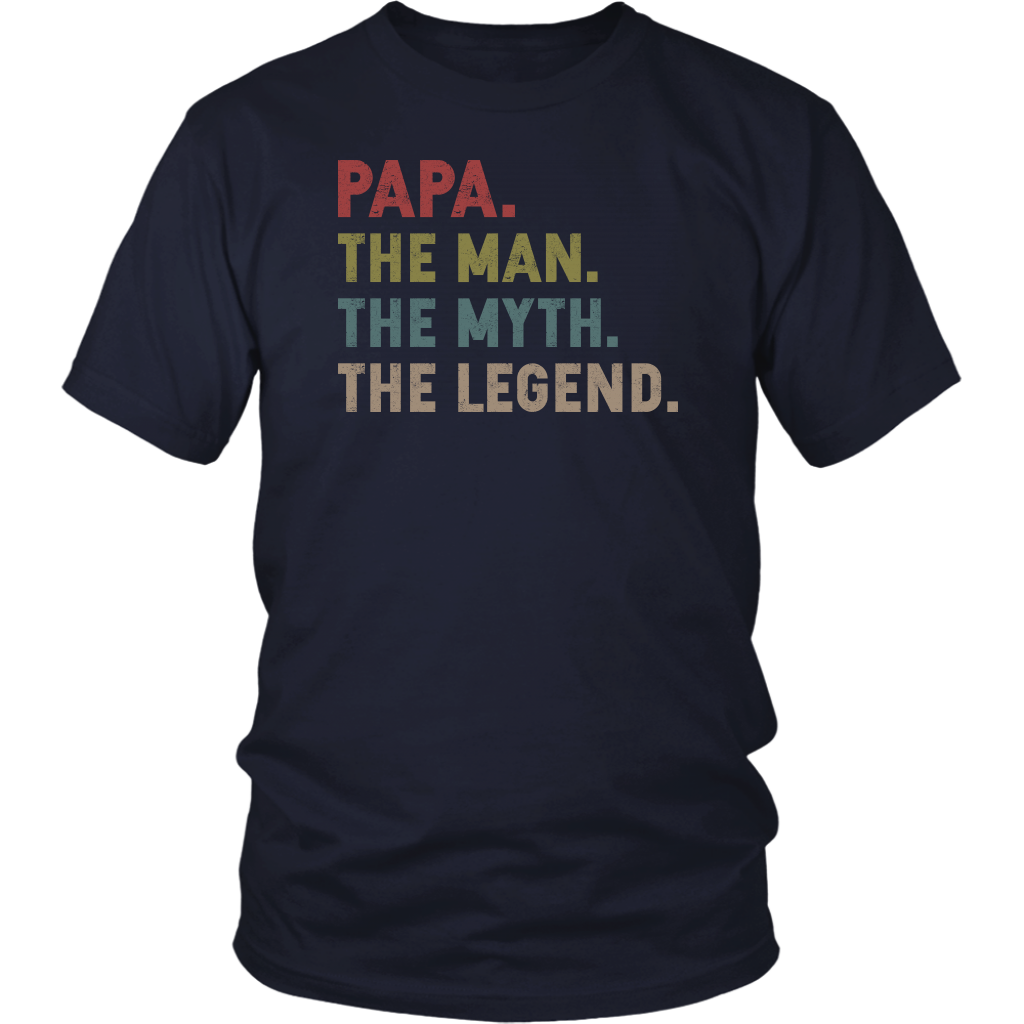 Papa The Man The Myth The Legend shirt vintage