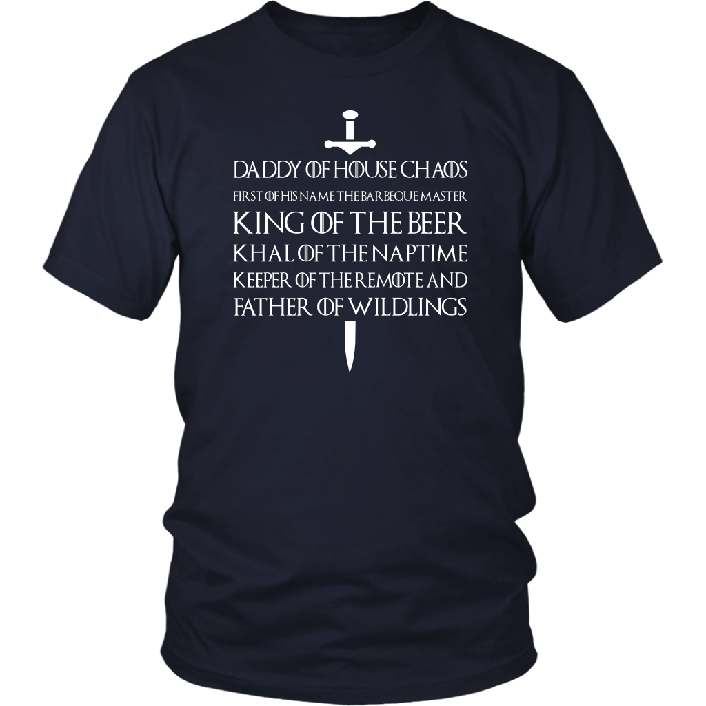Father of Wildlings T-Shirt Daddy Of House Gift