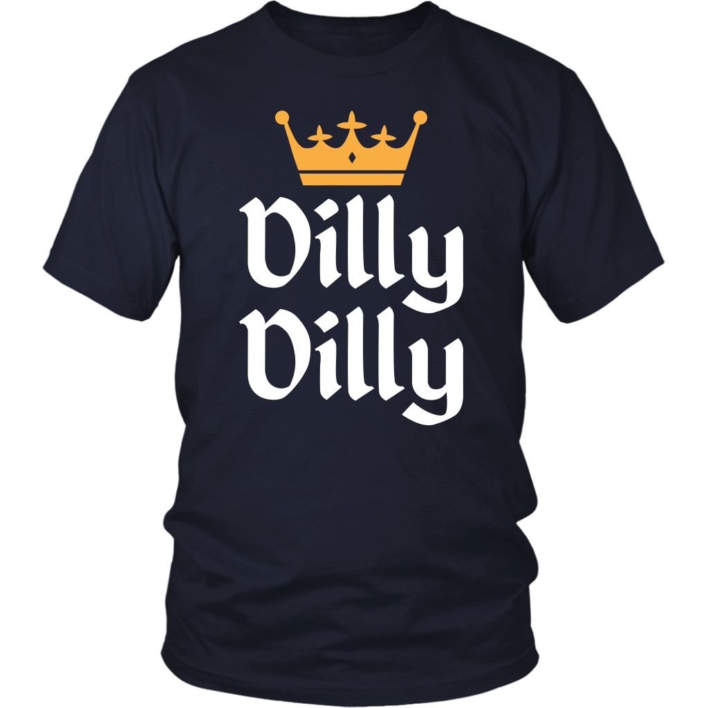 St Patricks Day Dilly Dilly Gold Crown T-Shirt