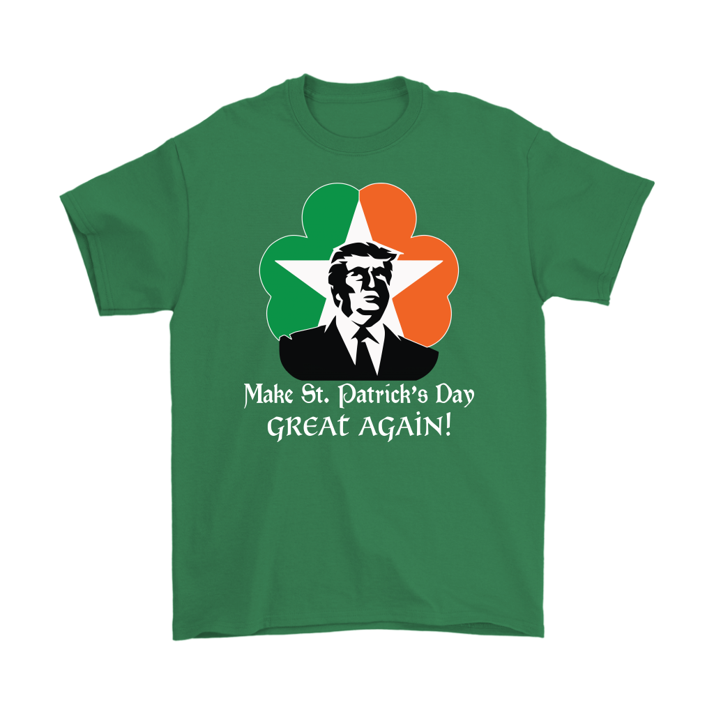 Trump Make St Patrick's Day Great Again shirt