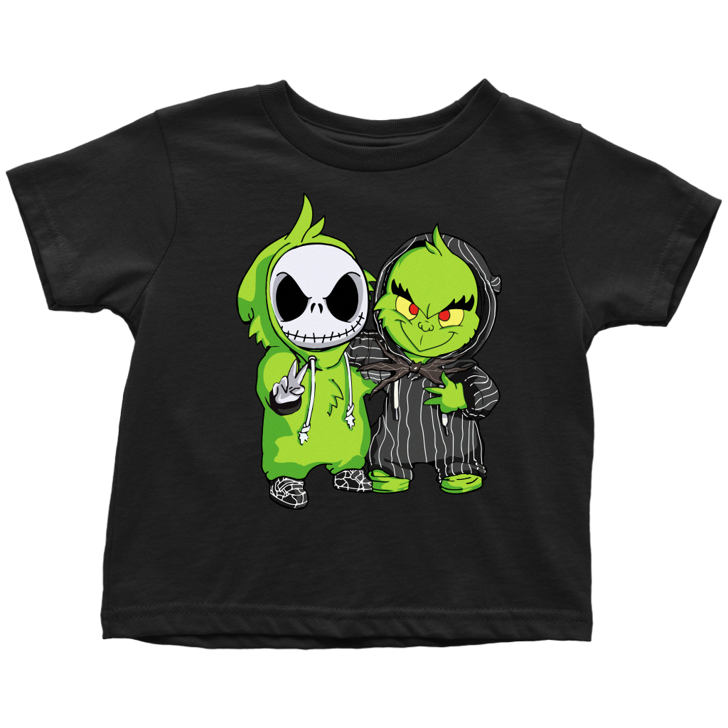 Funny Baby Jack Skellington and Grinch Best Friend shirt
