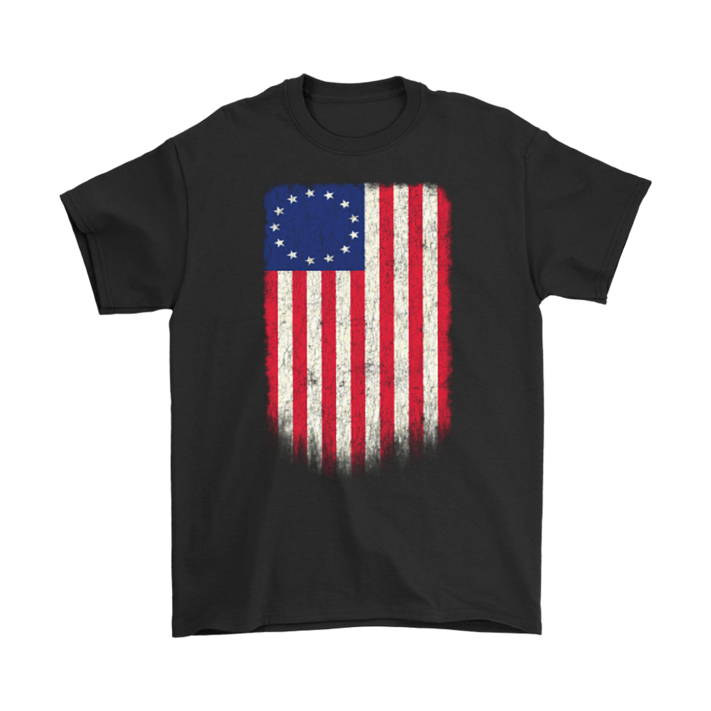 Old Glory First American Betsy Ross Flag T-Shirt