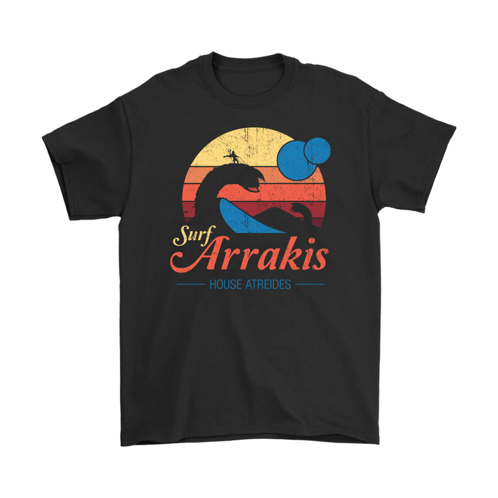 Vintage Surf Arrakis House Atreides Shirts