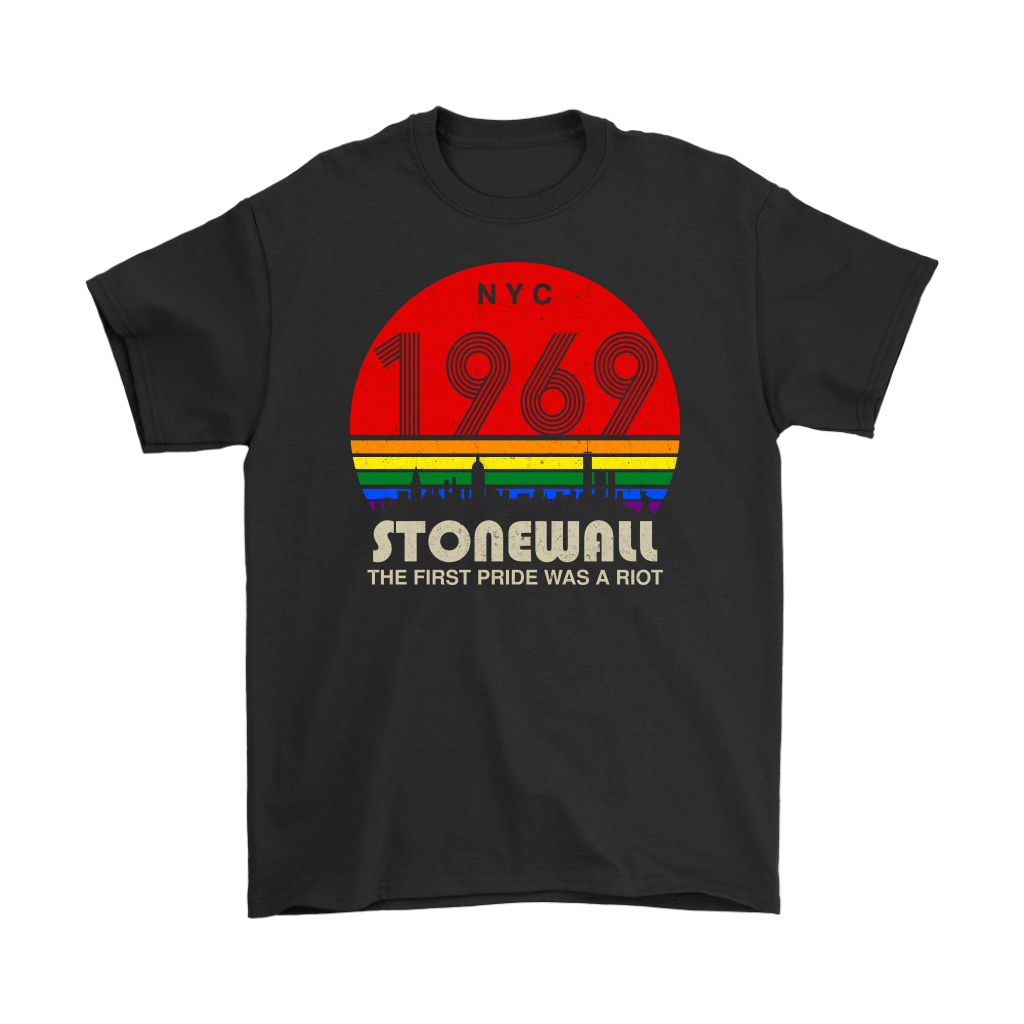 51st Anniversary Stonewall 1969 The First Pride Was A Riot LGBT shirts