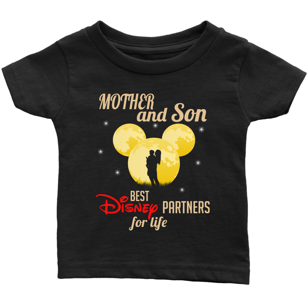 Mother and Son Best Partners For Life T Shirts