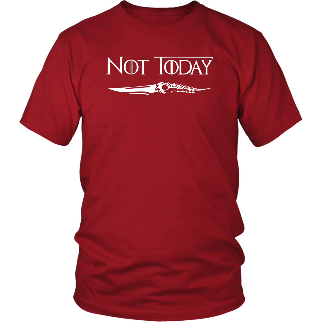 Arya Stark Not Today shirts
