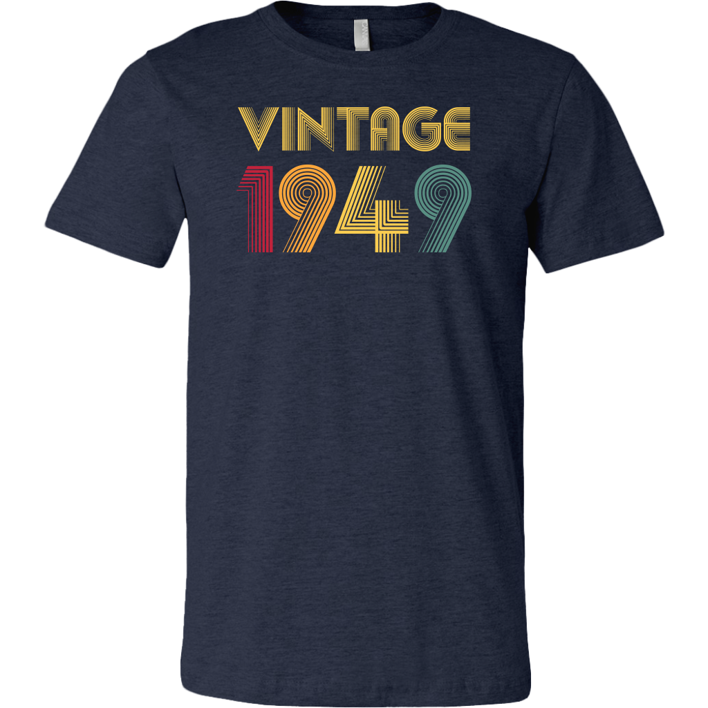 Retro Classic 70th Birthday Vintage 1949 T Shirts Seventy years old