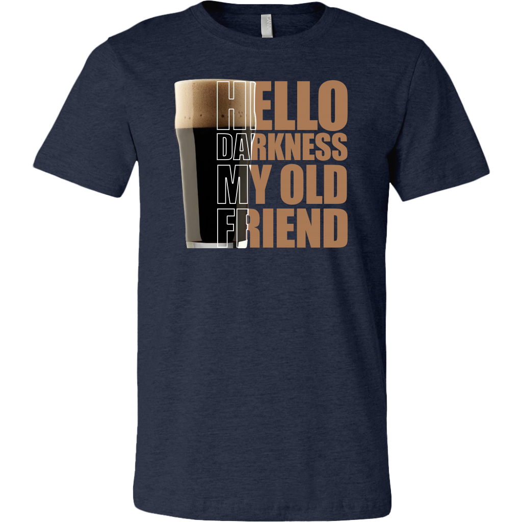 Hello Darkness My Old Friend Coffee shirt