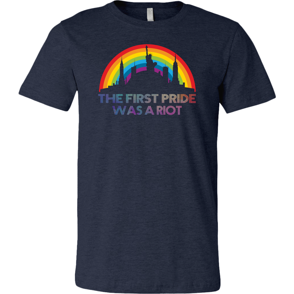 The First Gay Pride Was a Riot LGBT Pride shirt Parade NYC 50th anniversary