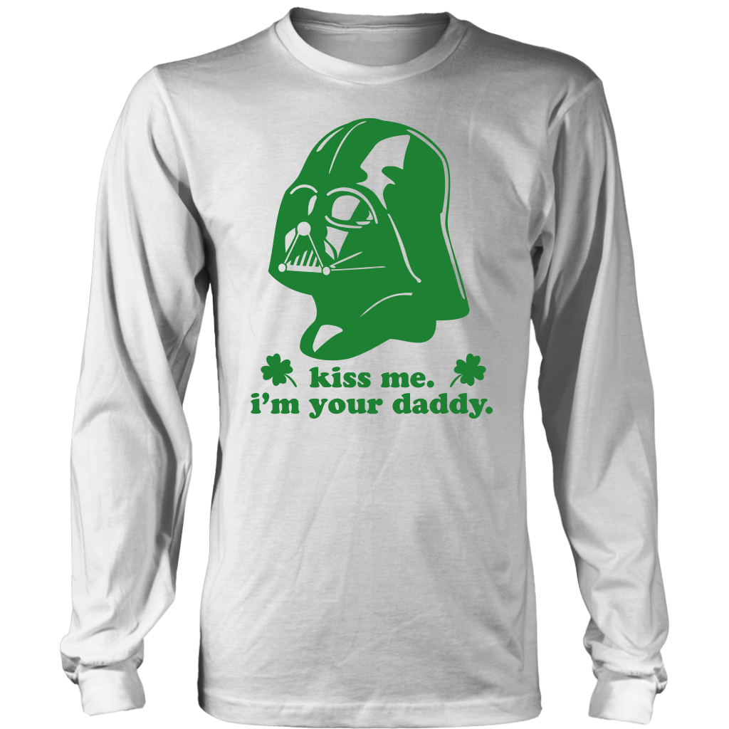 Kiss Me I'm Your Daddy T-Shirt St. Patrick's Day shirts
