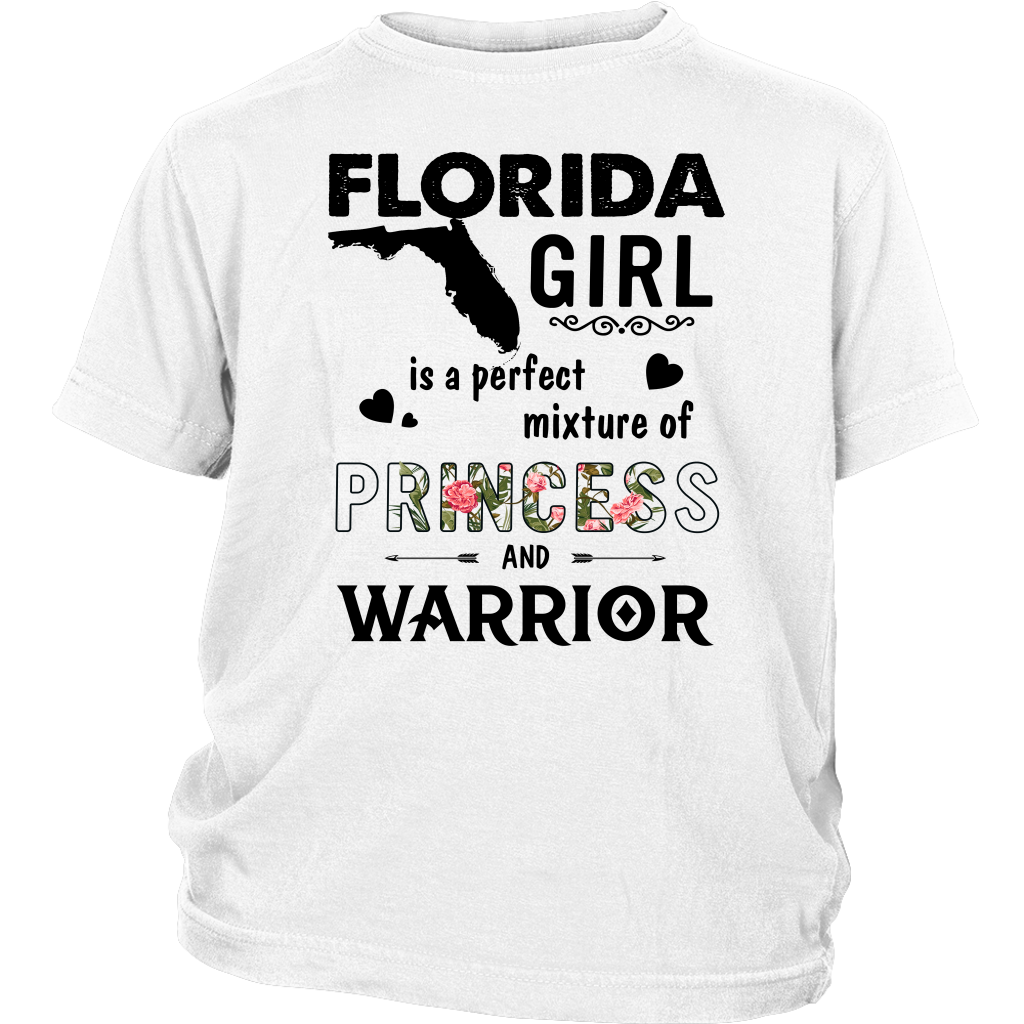 Florida Girl is a perfect mixture of Princess and Warrior shirt