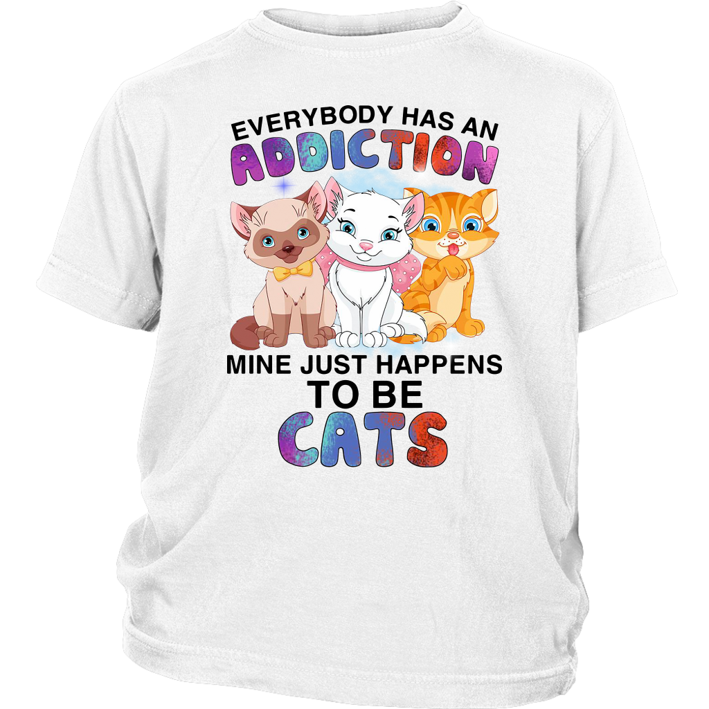 Everyboby has an Addiction mine just happens to be Cats shirt