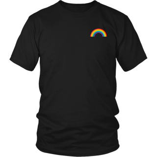 LGBT Gay Pride Month Transgender Rainbow Pocket shirt