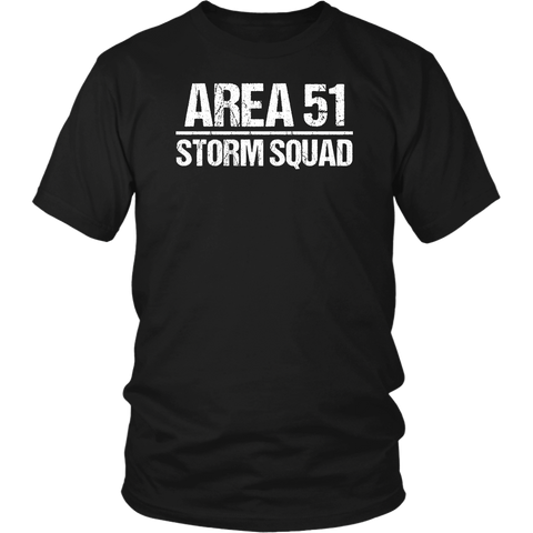 Funny Area 51 Storm Squad T Shirts