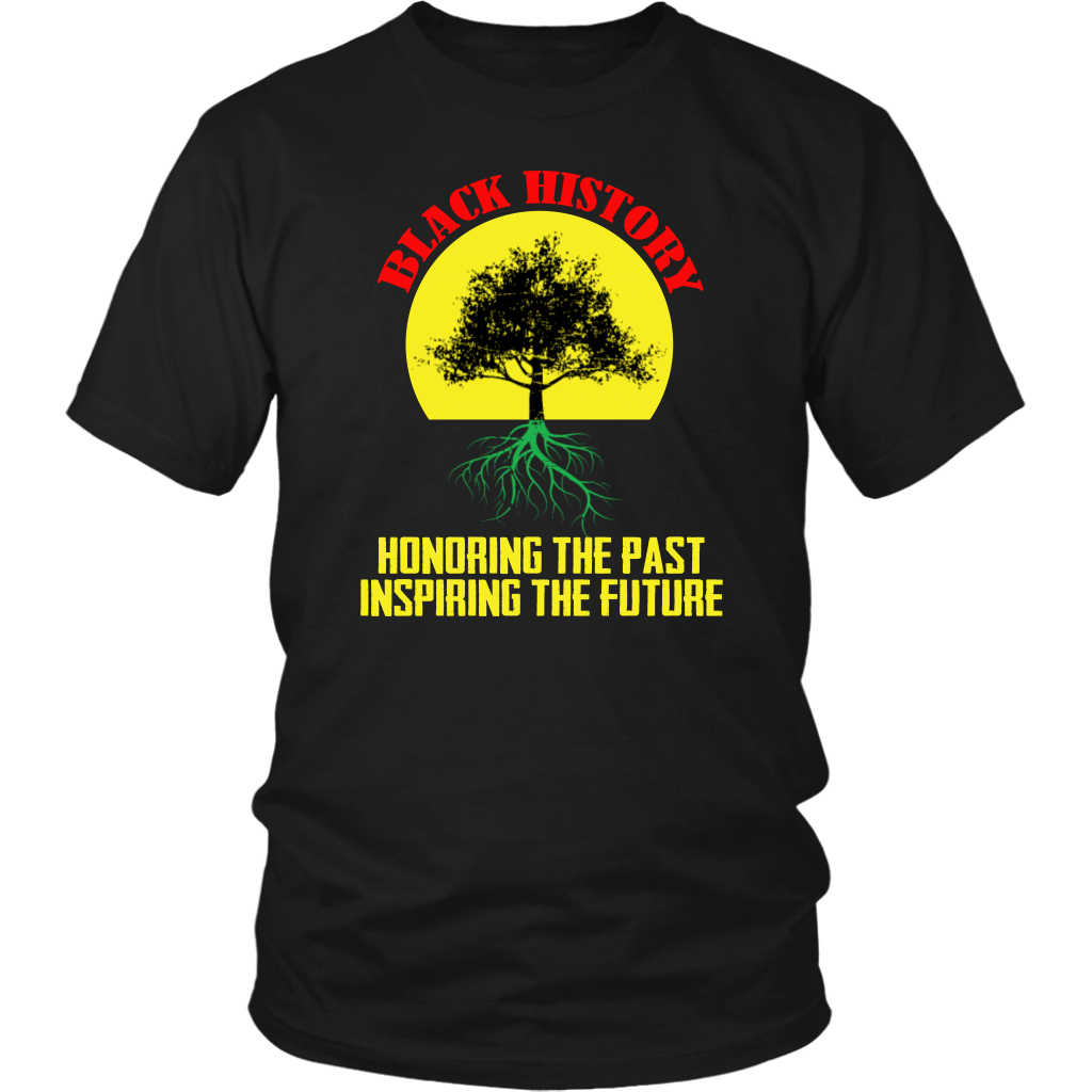 Honoring Past Inspiring Future Black History Month T-Shirt