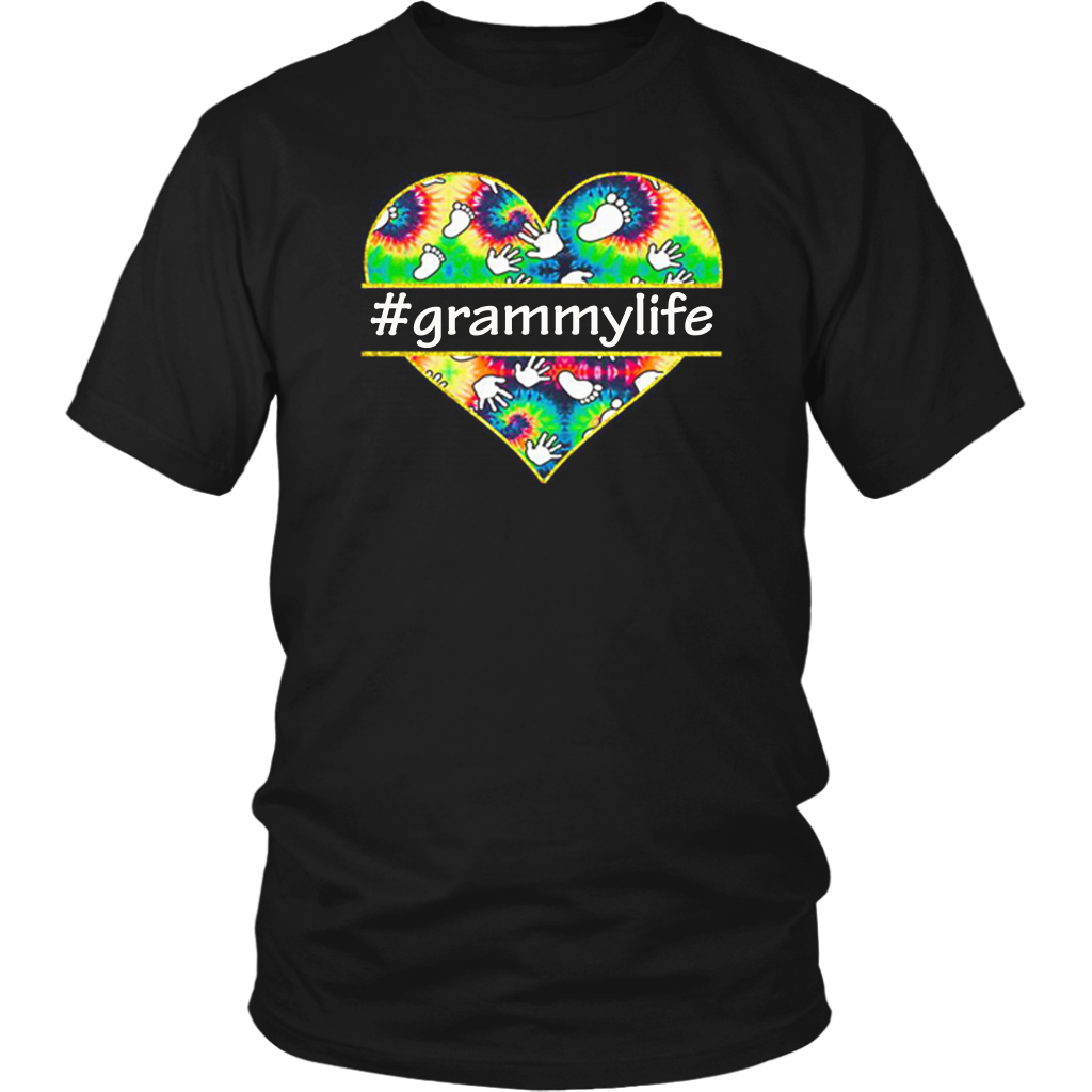 Colorful Heart Grammy Life t shirt