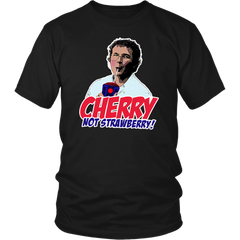 Alexei Stranger Things cherry not strawberry shirts