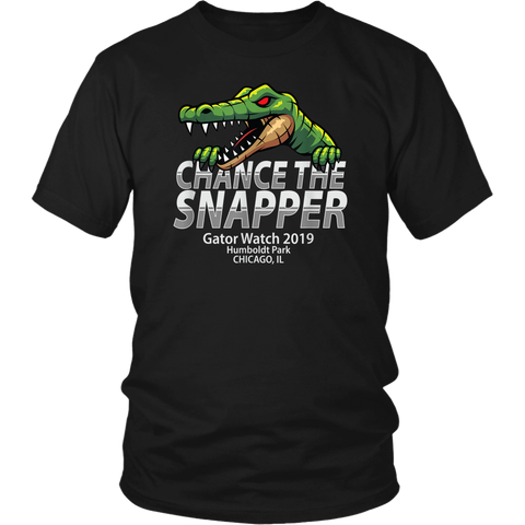 Chance The Snapper Gator Watch Humboldt Park Chicago IL shirt