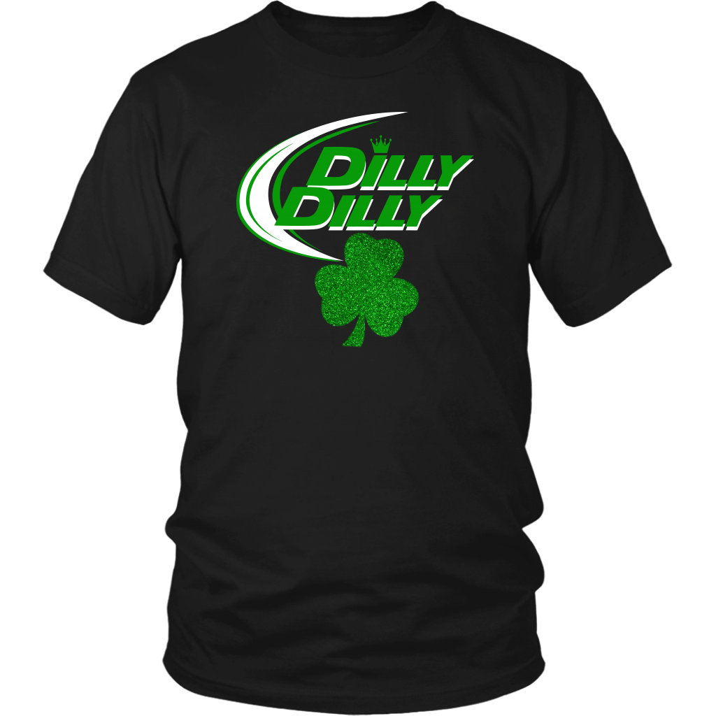 St Patricks Day Dilly Dilly Shamrock Clover shirt
