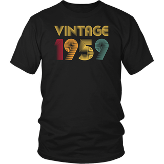 Retro Classic 60th Birthday Vintage 1959 T Shirts Sixty years old