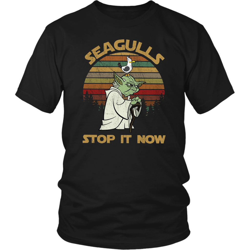 Vintage Seagulls Stop It Now shirt